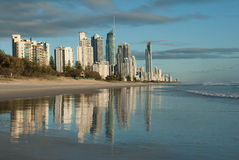 Gold Coast Αυστραλία Στοκ φωτογραφία με δικαίωμα ελεύθερης χρήσης