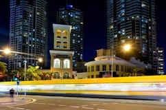 Gold Coast Αυστραλία εμπορικού κέντρου σιριτιών Στοκ εικόνα με δικαίωμα ελεύθερης χρήσης