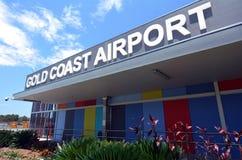 Gold Coast διεθνές Airpor Στοκ εικόνες με δικαίωμα ελεύθερης χρήσης