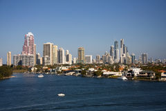 Gold Coast Royalty Free Stock Image