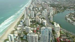 Gold Coast 2 stock video