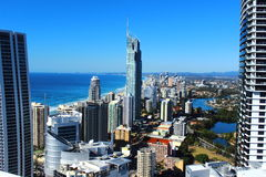 Gold Coast Lizenzfreies Stockbild