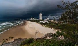 Θυελλώδες Gold Coast Στοκ Εικόνες