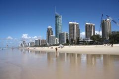 Gold Coast Royalty Free Stock Image