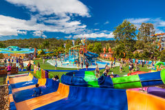 GOLD COAST, AUS - MAR 20 2016: Junior section of Wet'n'Wild Gold Royalty Free Stock Photography