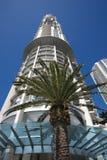 GOLD COAST, AUSTRALIË - MAART 25, 2008: De Toren van het horizonnoorden in Gold Coast, Australië Het gebouw in 2004 wordt gebeëin stock foto's