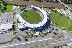 GOLD COAST, AUSTRALIA � JUNE 16: Aerial view of Metricon Stadi Stock Photography