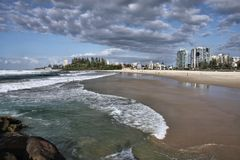 Gold Coast in Australia Royalty Free Stock Photo