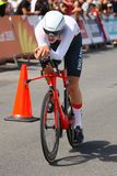 21st Commonwealth Games, Cycling Time Trial, Gold Coast, Queensl Stock Photos
