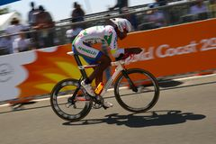 21st Commonwealth Games, Cycling Time Trial, Gold Coast, Queensl Stock Images
