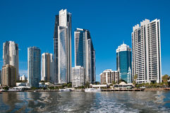 The Gold coast Royalty Free Stock Photography