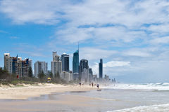Gold Coast beach Royalty Free Stock Photography