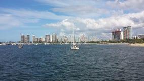 Gold Coast Broadwater Lizenzfreie Stockbilder