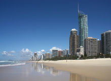 Gold Coast city, Australia Stock Images