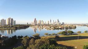 Gold Coast City Early Morning 1 Royalty Free Stock Photos