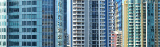 Gold Coast Cityscape Stock Image