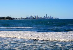 Gold Coast in Australia Royalty Free Stock Image