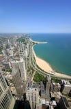 Gold Coast de Chicago Foto de archivo libre de regalías
