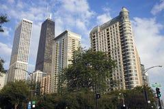 Gold Coast en Chicago Fotos de archivo libres de regalías