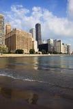 Gold Coast en Chicago Foto de archivo