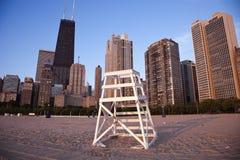 Gold Coast en Chicago Foto de archivo libre de regalías