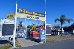 Gold Coast fiskares Co - Queensland Australien Arkivbilder