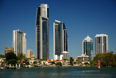 Gold Coast High Rise Stock Images
