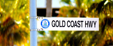 Gold Coast Highway Queensland Australia Royalty Free Stock Photo