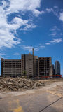 Gold Coast Hospital building demolition Stock Photography
