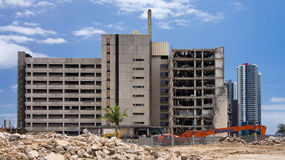 Gold Coast Hospital demolition Royalty Free Stock Photography
