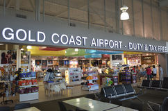 Gold Coast International Airpor Arkivbild