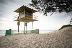 Gold Coast lifeguard hut. Stock Photography