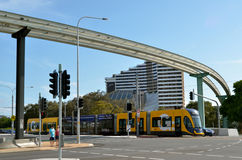 Gold Coast Light Rail G -Queensland Australia Royalty Free Stock Images