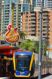 Gold Coast Light Rail G -Queensland Australia Royalty Free Stock Photography