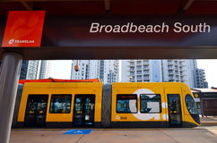 Gold Coast Light Rail G -Queensland Australia Royalty Free Stock Images