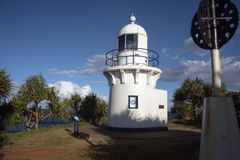 Gold Coast lighthouse. Australia Royalty Free Stock Photography