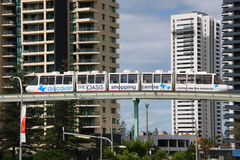 Gold Coast monorail Stock Image