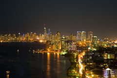 Gold Coast at night Stock Images