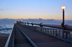 Gold Coast Pier at the Spit -Queensland Australia Stock Photos