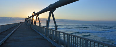 Gold Coast Pier at the Spit -Queensland Australia Royalty Free Stock Photography