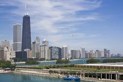Gold Coast que sorprende en Chicago Imágenes de archivo libres de regalías