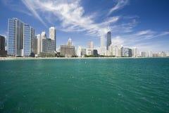 Gold Coast que sorprende en Chicago Imagenes de archivo
