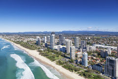 Gold Coast Queensland, Australien Arkivbilder