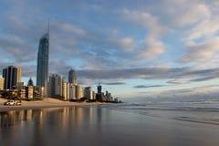 Gold Coast, rendez-vous de l'Australie pour le Commonwealth 2018   photographie stock libre de droits