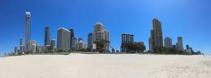 Gold Coast, rendez-vous de l'Australie pour le Commonwealth 2018 images libres de droits