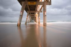 Gold Coast Sand Pumping Jetty Royalty Free Stock Images