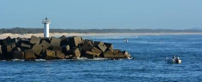 Gold Coast Seaway -Queensland Australia Royalty Free Stock Image