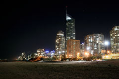 Gold-Coast Skyline. Stock Photography