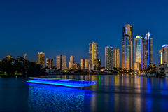 Gold Coast Skyline Royalty Free Stock Images