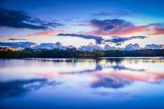 Gold Coast soluppgång Arkivfoton